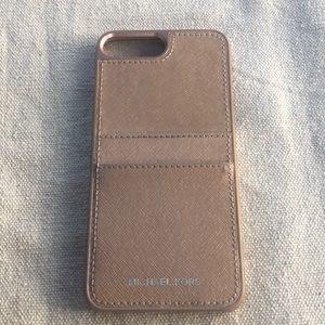 Authentic Michael Kors iPhone 6, 7, 8 plus case 💗
